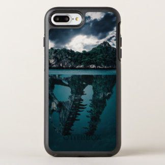 Abstract Fantasy Artistic Island OtterBox Symmetry iPhone 8 Plus/7 Plus Case
