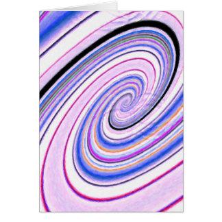 Abstract fantasy card