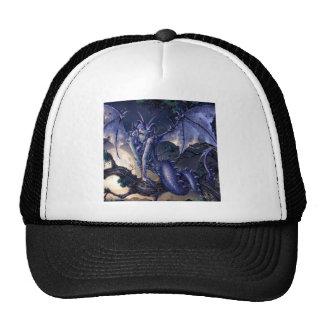 Abstract Fantasy Dragon Girl Flirt Hat