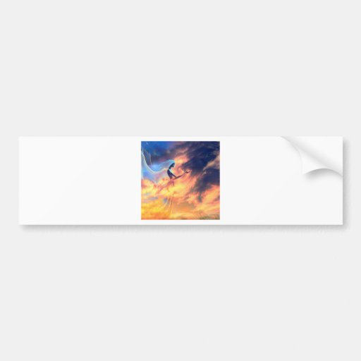 Abstract Fantasy Fantasy Spirits Bumper Stickers