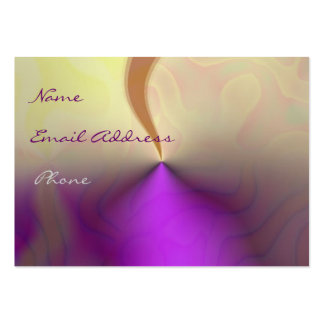 Abstract Fantasy Profile Cards Pack Of Chubby Business Cards