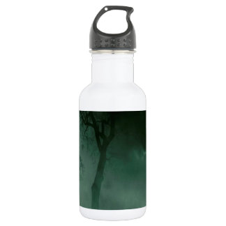 Abstract Fantasy Standing Alone Night 532 Ml Water Bottle