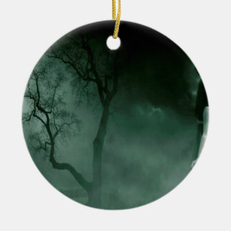 Abstract Fantasy Standing Alone Night Ornament