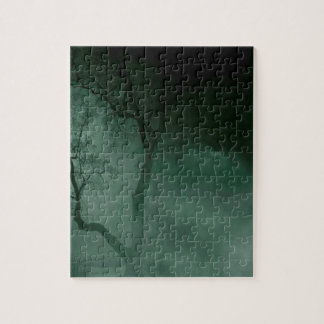 Abstract Fantasy Standing Alone Night Jigsaw Puzzle