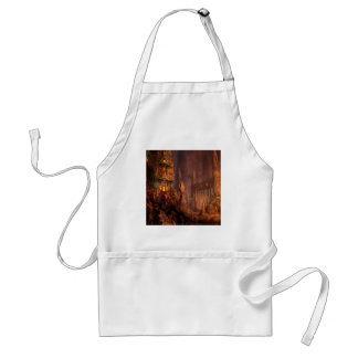 Abstract Fantasy Temple Of Fire Aprons