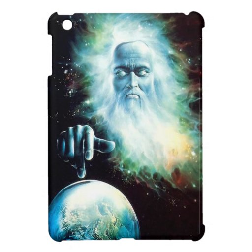 Abstract Fantasy Zeus Watches World Case For The iPad Mini