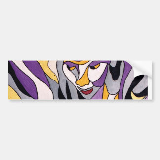 Abstract Female 7 Bumper Sticker