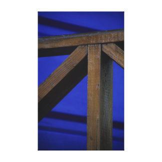 Abstract Fence Post on Canvas Stretched Canvas Prints