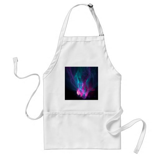 Abstract Fiery Descent Apron