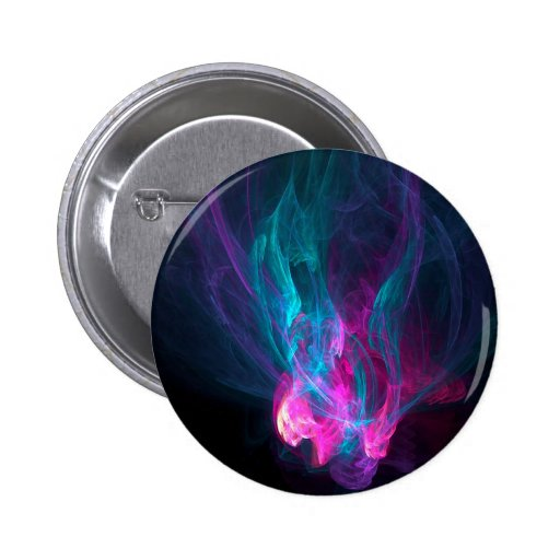 Abstract Fiery Descent Pins