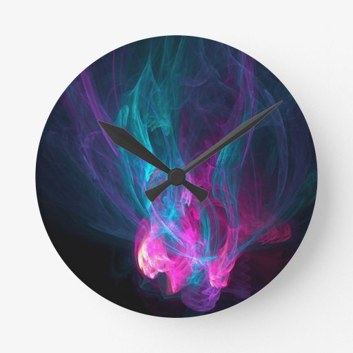 Abstract Fiery Descent Clocks