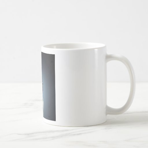 Abstract Fire Candle Water Splash Mugs