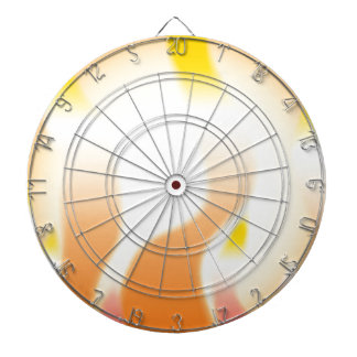 Abstract Fire Dartboard