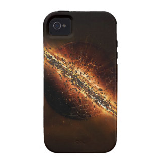 Abstract Fire Explosion Galactic Case-Mate iPhone 4 Cases