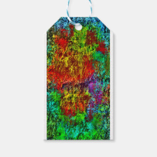 Abstract Fire Gift Tags