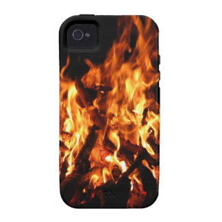 Abstract Fire Hot Ember Vibe iPhone 4 Case
