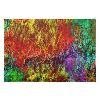 Abstract Fire Placemat