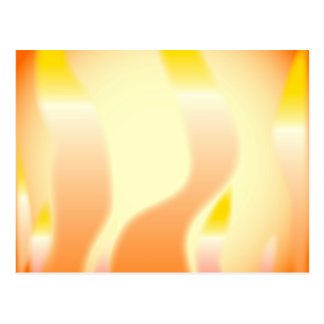 Abstract Fire Postcard