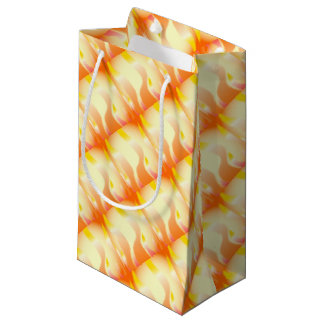Abstract Fire Small Gift Bag