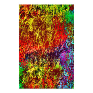 Abstract Fire Stationery