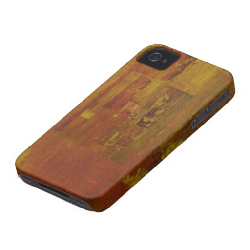 Abstract Fire Storm Blackberry Bold Cover