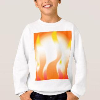 Abstract Fire Sweatshirt
