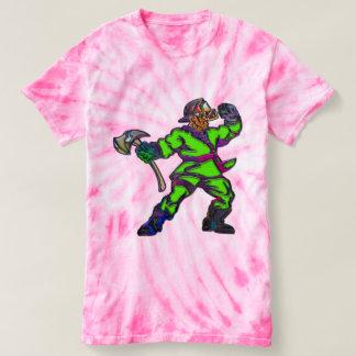 Abstract Firemen T-Shirt