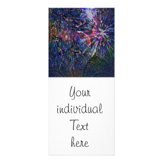 Abstract Firework Rack Cards