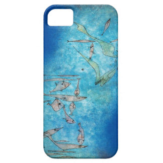 Abstract Fish by Paul Klee Barely There iPhone 5 Case