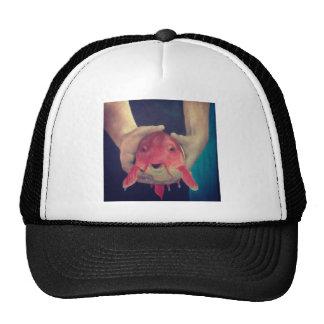 Abstract Fish Cap