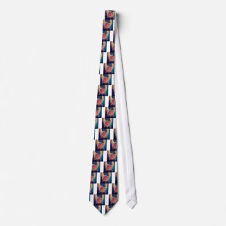 Abstract Fish Tie