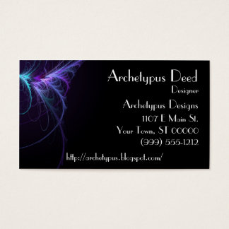 Abstract Flair Business Card 3