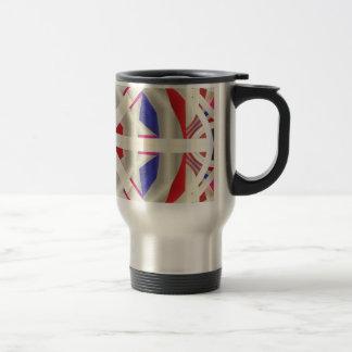 Abstract Flare Coffee Mugs