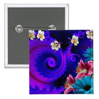 Abstract Flaver Pin