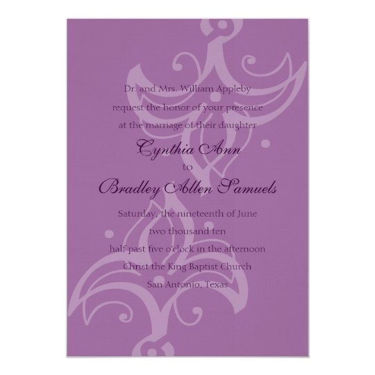 Abstract Fleur de Lis Card