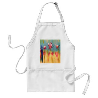 ABSTRACT FLORAL 1.jpg Apron