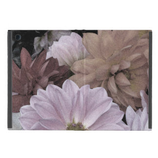 Abstract Floral Dahlia Garden Flowers iPad Mini Cover