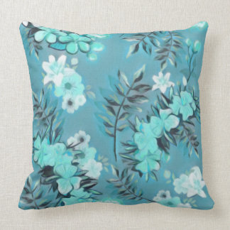 Abstract Floral Design Cushion