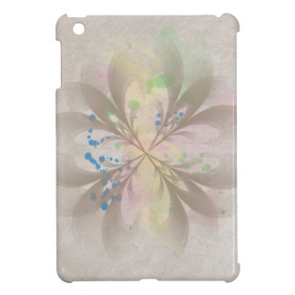Abstract Floral Design iPad Mini Cover