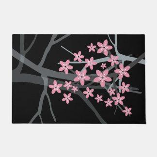 Abstract Floral Doormat