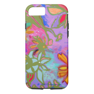Abstract Floral Fantasy iPhone 7 Case