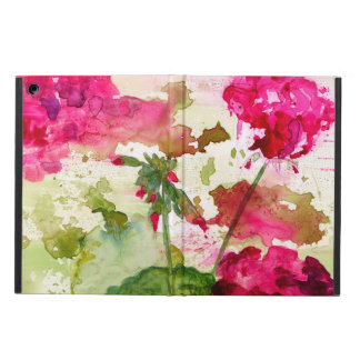 abstract floral ipad air case