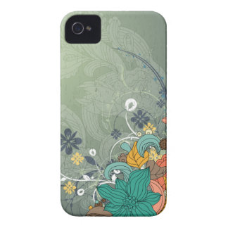 Abstract Floral iPhone 4s Case