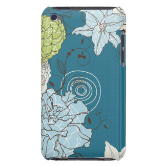 Abstract Floral iPod Touch Case