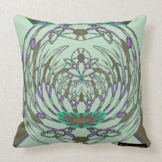 Abstract Floral Luxury Cushion
