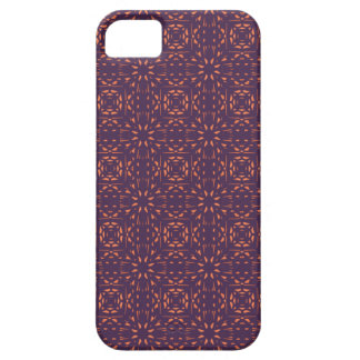 Abstract Floral Mesh On Acai Violet Background iPhone 5 Cover