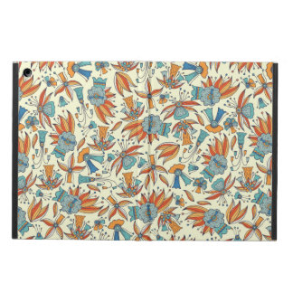 Abstract floral pattern design iPad air cases