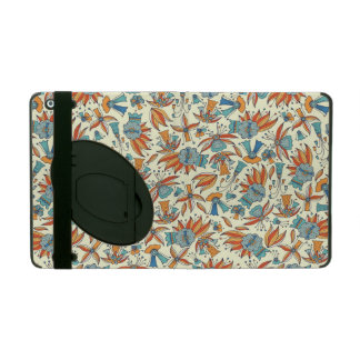 Abstract floral pattern design iPad case