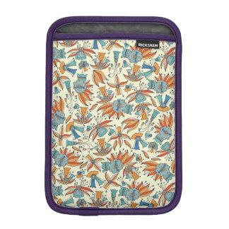 Abstract floral pattern design iPad mini sleeve