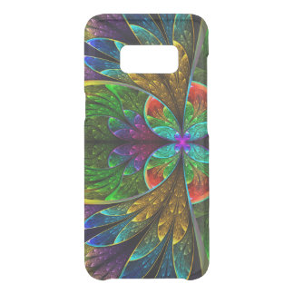 Abstract Floral Stained Glass Pattern Get Uncommon Samsung Galaxy S8 Case
